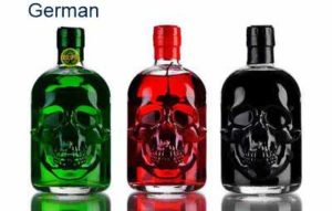 german antitoxin red black green set