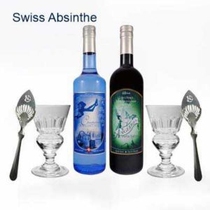swiss absinthe set